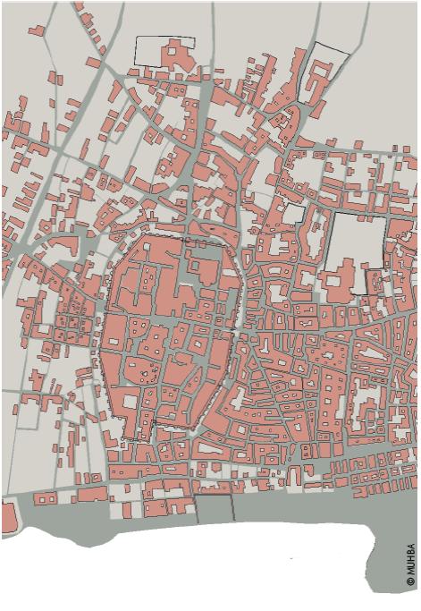 creixement de la ciutat fora muralles als segles XII-XIII.