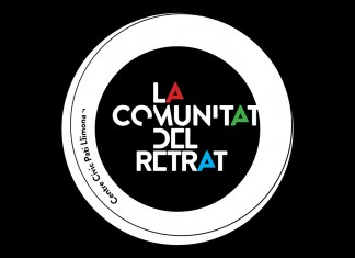 Logotip fons negre La Comunitat del Retrat - Dissenty CIKLIC