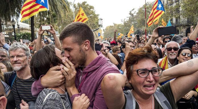 Mosaic proces independentista - fotografia Pedro Mata