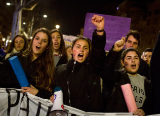 Crònica d'una vaga feminista