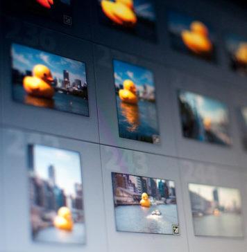 Fotografia del programa Lightrrom