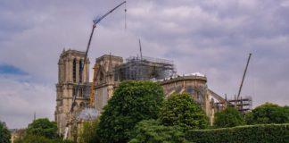 Monestir de Notre-Dame en reparació