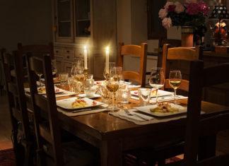 Taula parada per menjar - Taller de sopar d'estiu